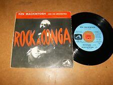 KEN MACKINTOSH - THE SWIVEL + 3 - EP ROCK A CONGA / LISTEN - LATIN ROCK POPCORN