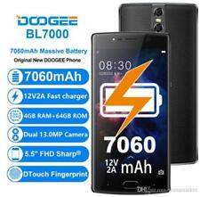 "DOOGEE BL7000 5.5"" FHD Android 7.0 4G Phone 4GB+64GB Octa Core Dual SIM ~ SILVER"