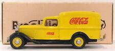 Brooklin 1/43 Scale BRK16 020B  - 1935 Dodge Van Drink Coca Cola Yellow