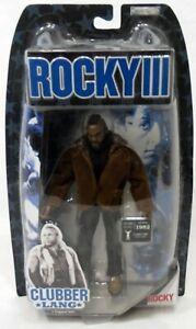 "Jakks Pacific Rocky III 3 Clubber Lang Street Clothes aka Mr T 7"" Figure Sealed"