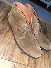 Polo Ralph Lauren Chukka Boots Suede Brown Sz 13