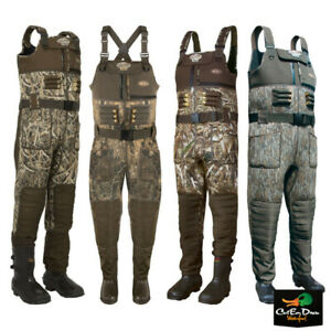 DRAKE WATERFOWL MST EQWADER WADING SYSTEM NEOPRENE 2.0 CAMO CHEST WADERS