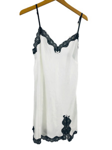 Victoria's Secret Womens Sleepwear Slip Nightgown Lingerie White Nightie Large