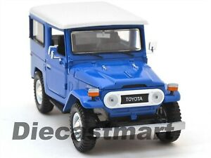 TOYOTA FJ40 FJ 40 LAND CRUISER BLUE 1:24 DIECAST MODEL CAR BY MOTORMAX 79323