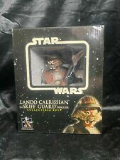 "Gentlegiant Star Wars ""Lando Calrissian"" In Skiff Guard Disguise Bust Figure"