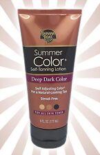 Banana Boat Summer Color Sunless Self Tanning Tan Lotion - Deep Dark Color 6 OZ
