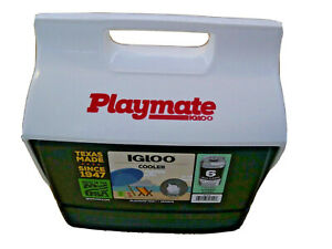 IGLOO PLAYMATE MINI COOLER~NEW~MADE IN THE USA~4 QUARTS ~3 LITERS~6 12oz CANS