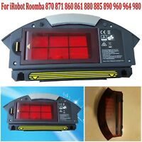 HEPA Filter + Dust Box Set For iRobot Roomba 870 860 880 960 980 Vacuum Cleaner