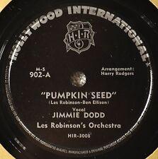 Jimmie Dodd Pumpkin Seed 78 Male Vocal Children Novelty Disney Mouseketeer NICE