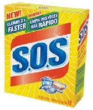 Clorox 72 Count, SOS, Steel Wool Soap Pad