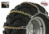 ATV Tire Chains 4 Wheeler Four Wheeler 22 inch wheel