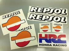 6 X Honda Repsol Logo Autocollants fireblade cbr vtr vfr