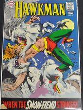 HAWKMAN #27 - 1968 (3.0) WHEN THE SNOWFIEND STRIKES!