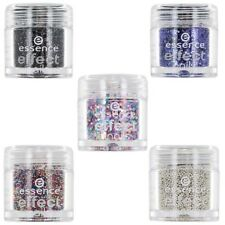 Essence Effect Nails - Nail Art Glitter Beads - LOT OF 5 Shades