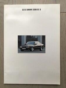 Introuvable - Brochure BMW série 5 - Janvier 1993 - Français