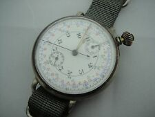 VINTAGE ANONIMO UNSIGNED POCKET WATCH CHRONOGRAPH MARRIAGE CUSTOM TO WRISTWATCH