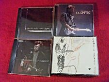 Lot of  4 Eric Clapton CDs 5 Discs