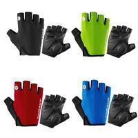 Cycling Gloves Gel Protection Half Finger Bike Breathable Fingerless Bike Gloves
