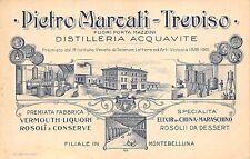 742) DISTILLERIA ACQUAVITE MARCATI (TREVISO) VERMOUTH MARASCHINO ROSOLIO LIQUORI
