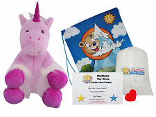 DIY Stuffed Animal Kit 16 Mystic the Unicorn No Sew Compatible Build-A-Bear more