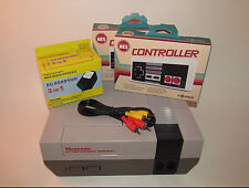 Nintendo NES Console System Bundle w/ New Controllers & Hookups