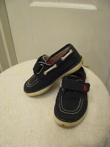 Polo Ralph Lauren Boy's Shoes Size 7 Navy Blue