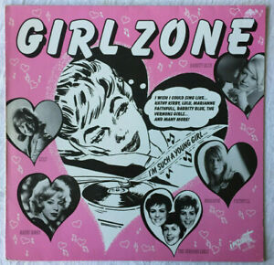 """""""GIRL ZONE"""" COMPILATION LP feat. LULU,MARIANNE FAITHFULL,KATHY KIRBY etc 1986 UK"""