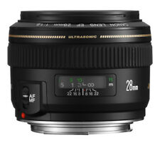 Canon EF 28mm F/1.8 USM Camera Lens - Black