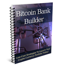 Bit Coin Bank Builder Money 2019 ebook-pdf book kindle FREE e-mail/Ship/Delivery