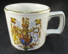 Vintage Wood & Son's Pride Of Britain Royal Marriage Souvenir Mug - 1981