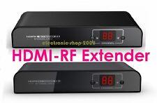 HDMI to RF Coaxial H.264 Extender Converter Fr DVD PS3 SDTV HDTV Projector 1080P