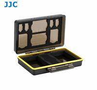 JJC BC-3UN1 Hard Case box for 2x Battery and various memory card SD MSD XQD