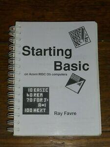 Starting Basic on Acorn Computers by Ray Favre