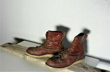 Vintage Danner Men's Red/Cognac Leather Work Boots Sz 12.5 #306