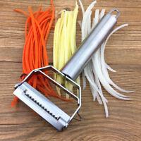 1PC Stainless Steel Vegetable Fruit Peeler Slicer Carrot Potato Cutter