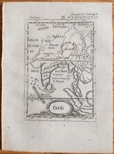 Mallet + Original Engraving India Thailand + 1719