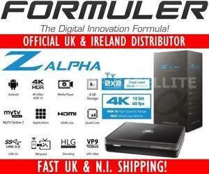 Formuler Z ALPHA UHD 4K Android IPTV Media Streamer Dual band WiFi
