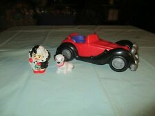 Fisher Price Little People Disney Cruella 101 Dalmations Musical Car Patch