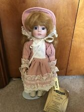Mann's Collectible Porcelain Doll Tracy