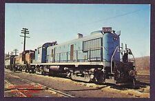 LMH Postcard 1970 BOSTON MAINE Railroad  BM B&M Alco RS-3 RS3 1506 Mechanicville