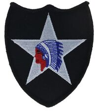 2nd Infantry Indian Head Army Star Patch HFL1301 F2D21D
