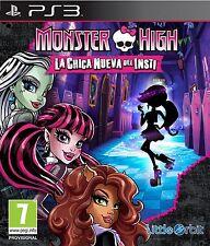 PS3 Monster High La Nueva Chica Del Insti Nuevo Precintado Pal España