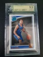 2018-19 Donruss Rated Rookie #177 LUKA DONCIC BGS 9.5 Gem Mint RC A39