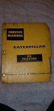 Vintage Caterpillar D-8 Tractor Service Manual Repair Restoration Tractor