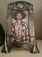 "MAGNIFICENT LARGE,RARE WMF ART NOUVEAU , SECESSIONIST PHOTO FRAME ""PROMENADE"""