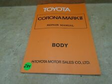 Toyota Corona Mark II Used Repair Manual VP 70s VP-CM284