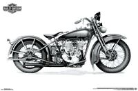 HARLEY-DAVIDSON - TWIN-CAM POSTER - 22x34 - MOTORCYCLE 15401