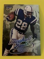 MARSHALL FAULK 1999 Fleer Ultra Gold Medallion Edition SP Colts Rams HOF