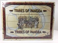 TRIBES OF PANGEA Board Game Building Civilization Hex Board MILLEN ENTERTAINMENT