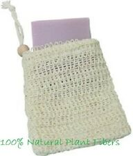 All Natural Ramie Soap Sack 100% Natural Plant Fibers Exfoliates! Free Shipping!